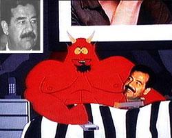 Burn in hell, Saddam