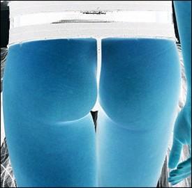 X-ray butt